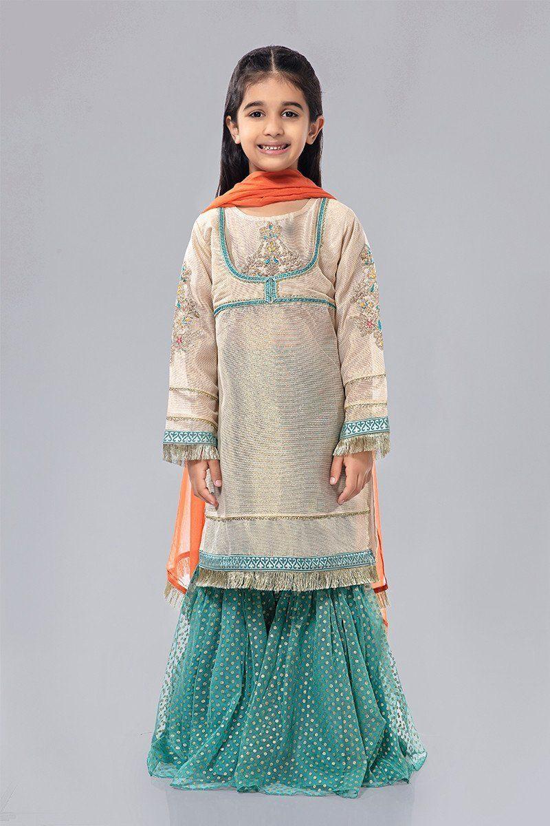 Maria B Eid Ul Azha Dresses Designs for Pakistani kids 2020