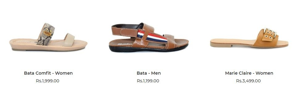 Online Shop Bata Shoes Festive Footwear Collection 2020