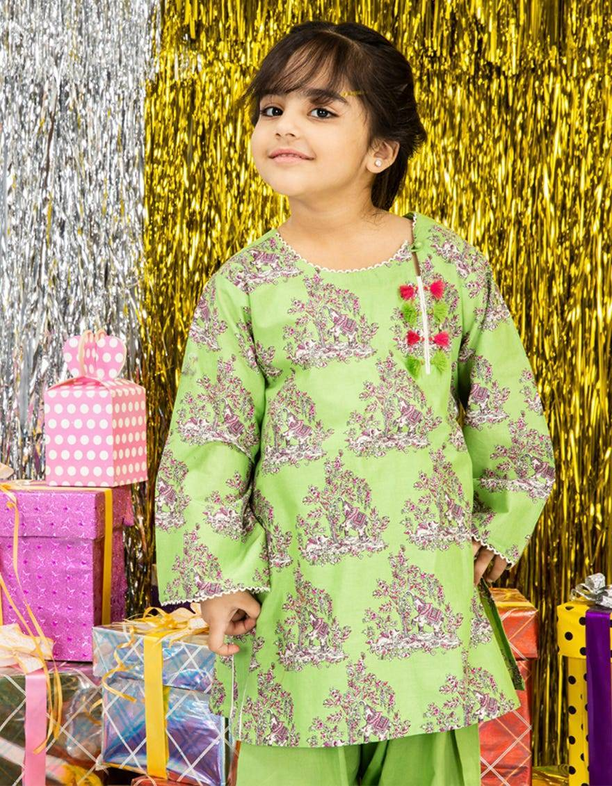 Online Shop Bonanza Kids Wear Dresses Look 2020