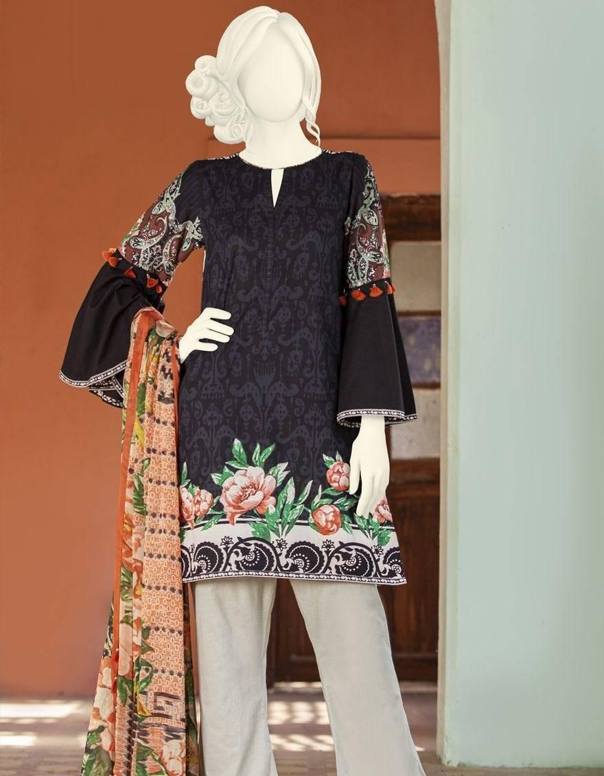 Stunning Dresses J. Jamshed Unstitched winter collection 2020