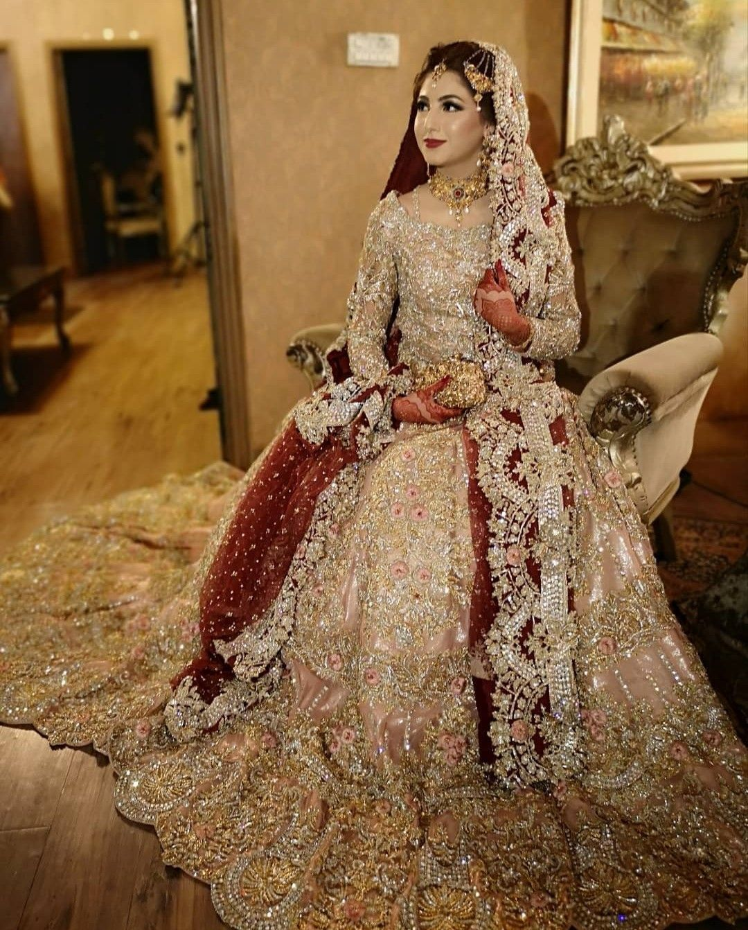Barat Dresses for Pakistani Bridal Dresses Looking Girls 2020