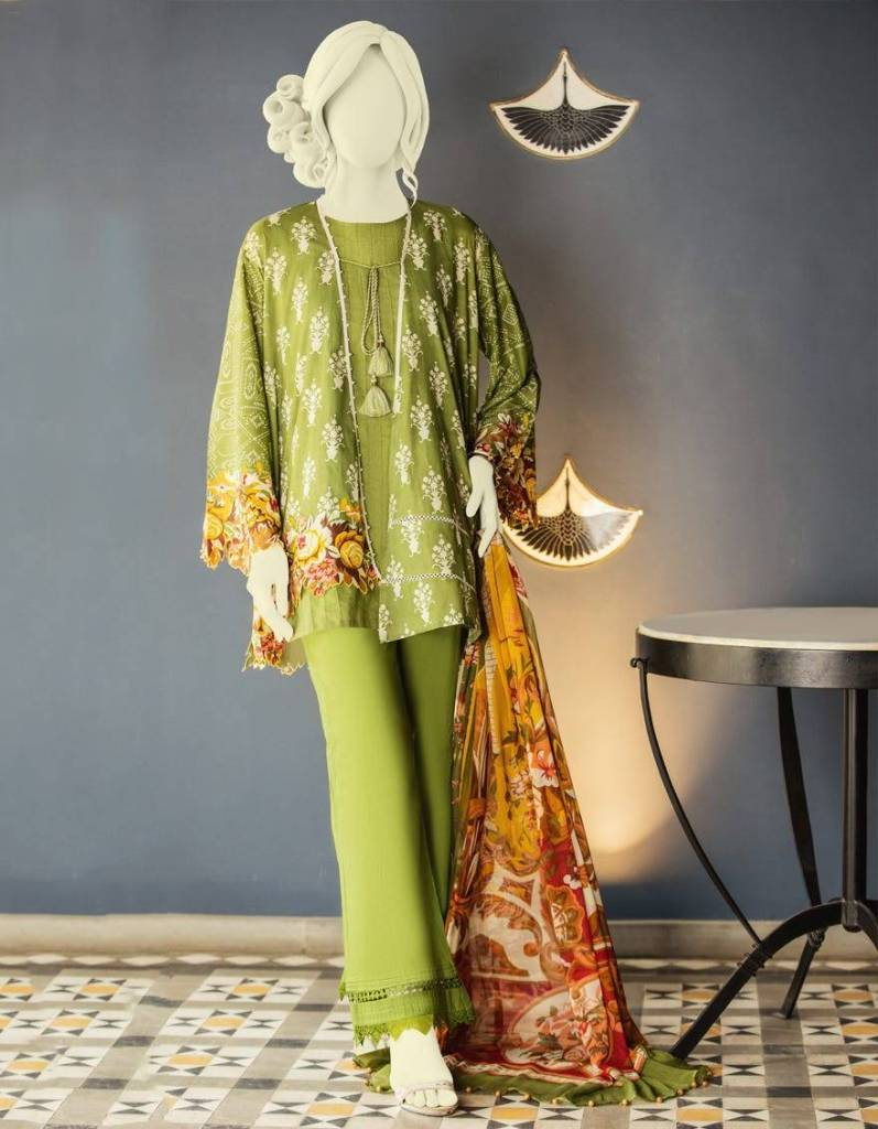 Junaid Jamshed Mid-Summer Collection Looking 2020