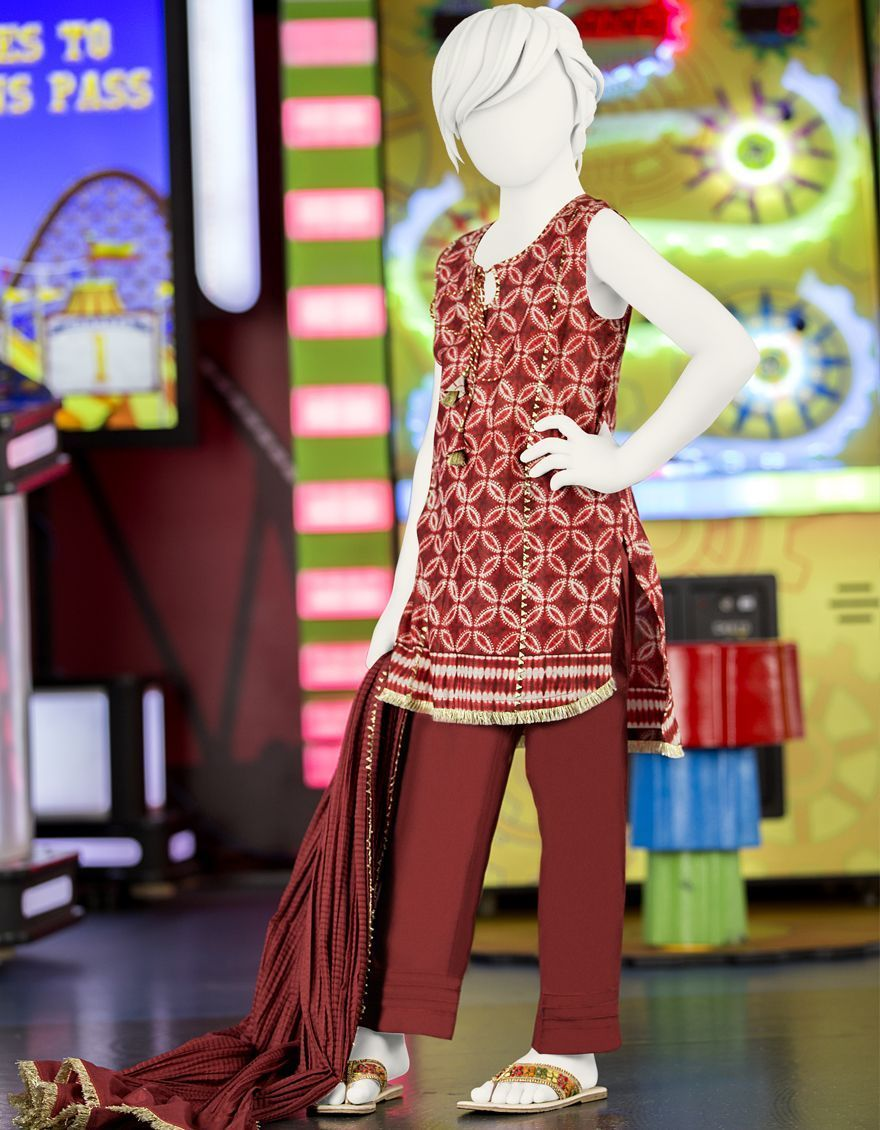 Kids Dresses By J.Jamshed Looking Style 2020