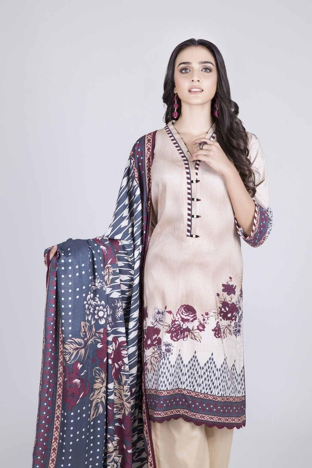 Stunning Dresses Bonanza Satrangi Winter Collection 2020