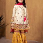 Maria B Winter Wedding Dresses For Baby Girls Looking 2020