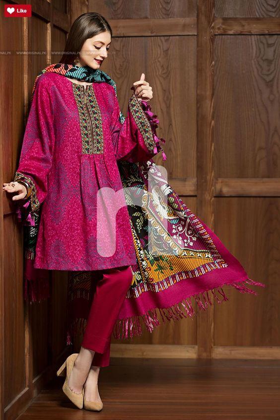 Online Shop Winter Dresses For Girls Designers Frocks 2020