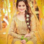 Awesome Bridal Mehndi Dresses For Wedding Girls 2020-21