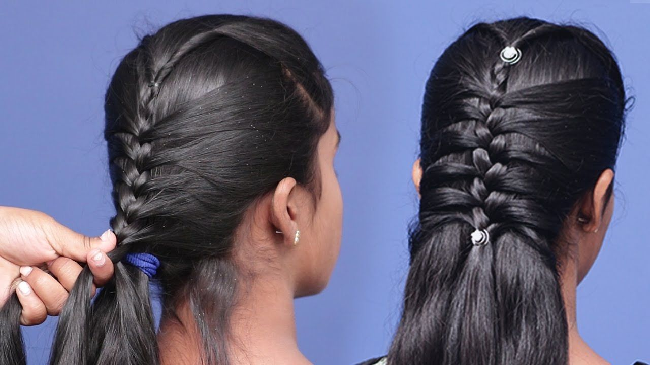 Beautifull Long Hairs Hairstyle For Girls Design Looking 2020