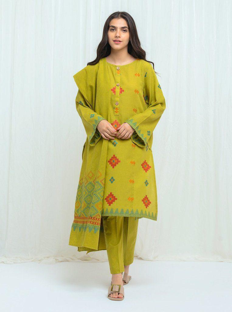 Exclent Unstitched Dress Linen, Khaddar 2020
