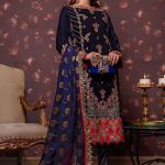 Asim Jofa Winter Velvet Collection 2020 Stylish Look