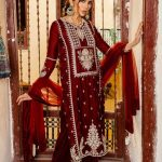 Awesome So Kamal Luxury Winter Dresses Design 2021