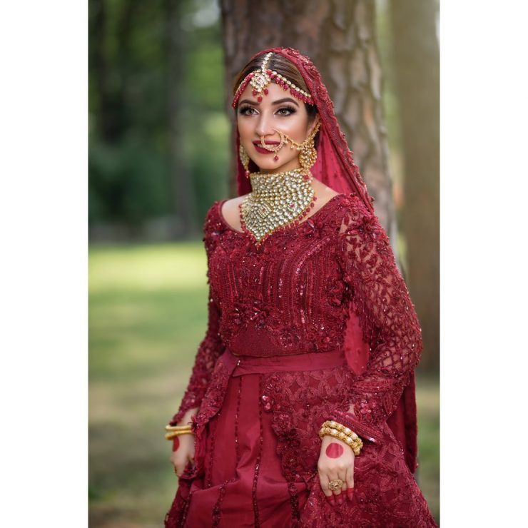 Bridal Dresses Kinza Hashmi Beautiful Look 2020