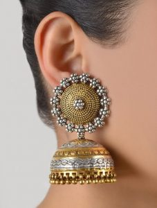 Bridal Jewellery Ideas With Dome Shaped Jhumkas 2021