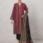 Edenrobe Allure Khaddar Winter Womens Clothes Look 2021
