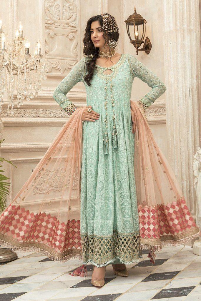 Maria B Bridal Wear Stunning Look 2021 Shop Online