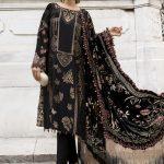 Best Maria B Winter Linen Womens Dresses Look 2021