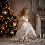 Beutifull Daughter Celebrating Winter Event Dresses 2021