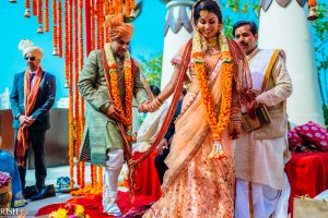 Indian Tv Actress Tricia & Hemant Wedding Hd Pices 2021