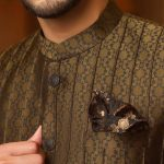 Junaid Jamshed Mens Fashion Royal Prince Look Coat 2021