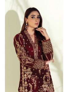 Gulaal Winter Velvet Shirts Designer For Women 2021