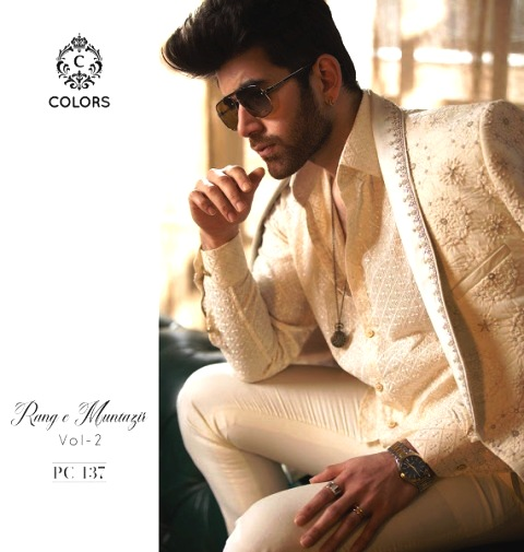 Latest Rang e Muntazir Colors Menswear Eid Wear Design 2021