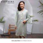 Latest Sapphire Digitle Lawn 2021 Volume-1st Women's Look