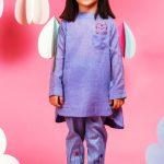 Famous Fashion Designers Alkaram Studio Kids Wear Kurti 40% Off