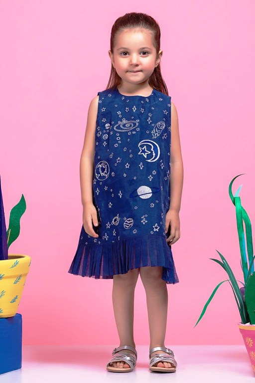 Famous Fashion Designers Alkaram Studio Kids Wear Kurti 40% Off