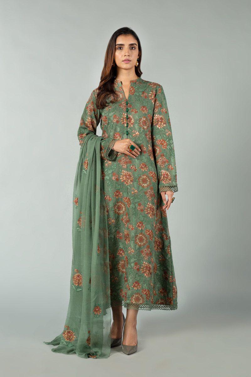 Fashionable Outfits Bareeze Winter Dress Online Sale, Pk, Shawl 2021