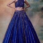 Plus Size Fashions Designs Of Sequins Lehenga Choli 2021 Look's