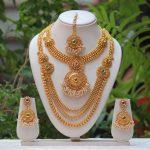 Bridal Eid Artificial Jewellery Necklace Design 2018