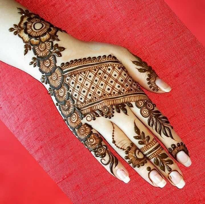 Eid ul Azha New Mehndi Design Collection 2018