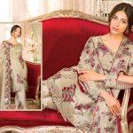Best Ramsha Rangoon Embroidered Chiffon Suit 2018