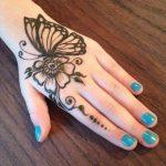 Butterfly Mehndi Designs Cute Ideas 2018