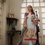 Kalyan Digital 2018 Embroidered Suit Z.S Textiles