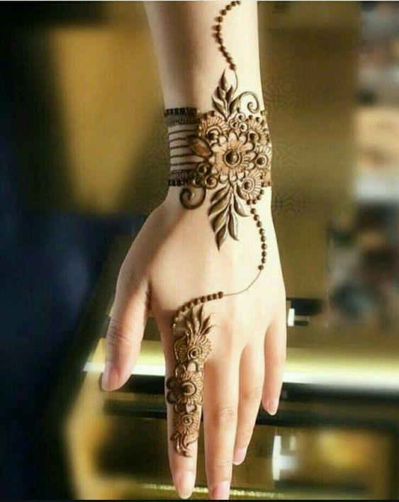 Best Traditional Hinna Arabic Mehndi Designs 2019