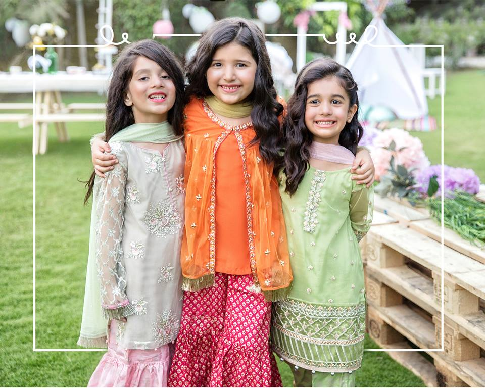 Kids Winter Season Catalog Stitched Dresses 2019