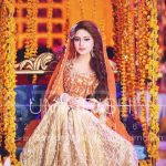 Mehndi Dresses Choice Pakistani Cute Brides 2019