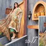 Shaista Viscose Embroidered Winter Suit 2019