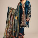 Awesome Khaadi Luxury Velvet Winter Suit 2019
