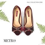 Best Metro Winter Bridal Designs Shoes 2019