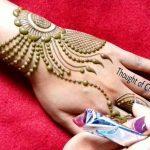 Traditional Asian Girls Mehndi Designs 2019