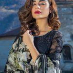 Awesome Erum Khan Embroidered chiffon Dresses 219