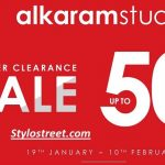 Best Alkaram Winter Sale Online Shop 2019