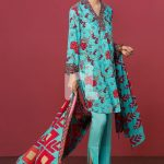 Nishat Linen Unstitched Winter Clothing Ideas 2019