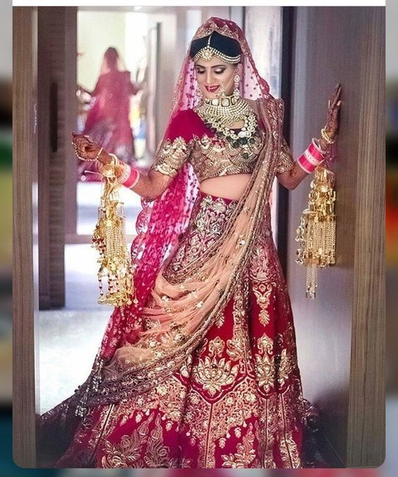 Onlain Indian Bridal Traditional Wedding Suite Trends 2019