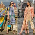 Excllent Sana Safinaz Stylish Lawn Suit Collection 2019