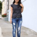 Onlain Casual Summer Outfits ideas to wear with Ripped JeansOnlain Casual Summer Outfits ideas to wear with Ripped Jeans
