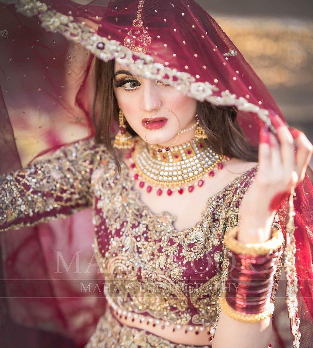 Charming Look Bridal Photoshoot of Hira Mani 2019