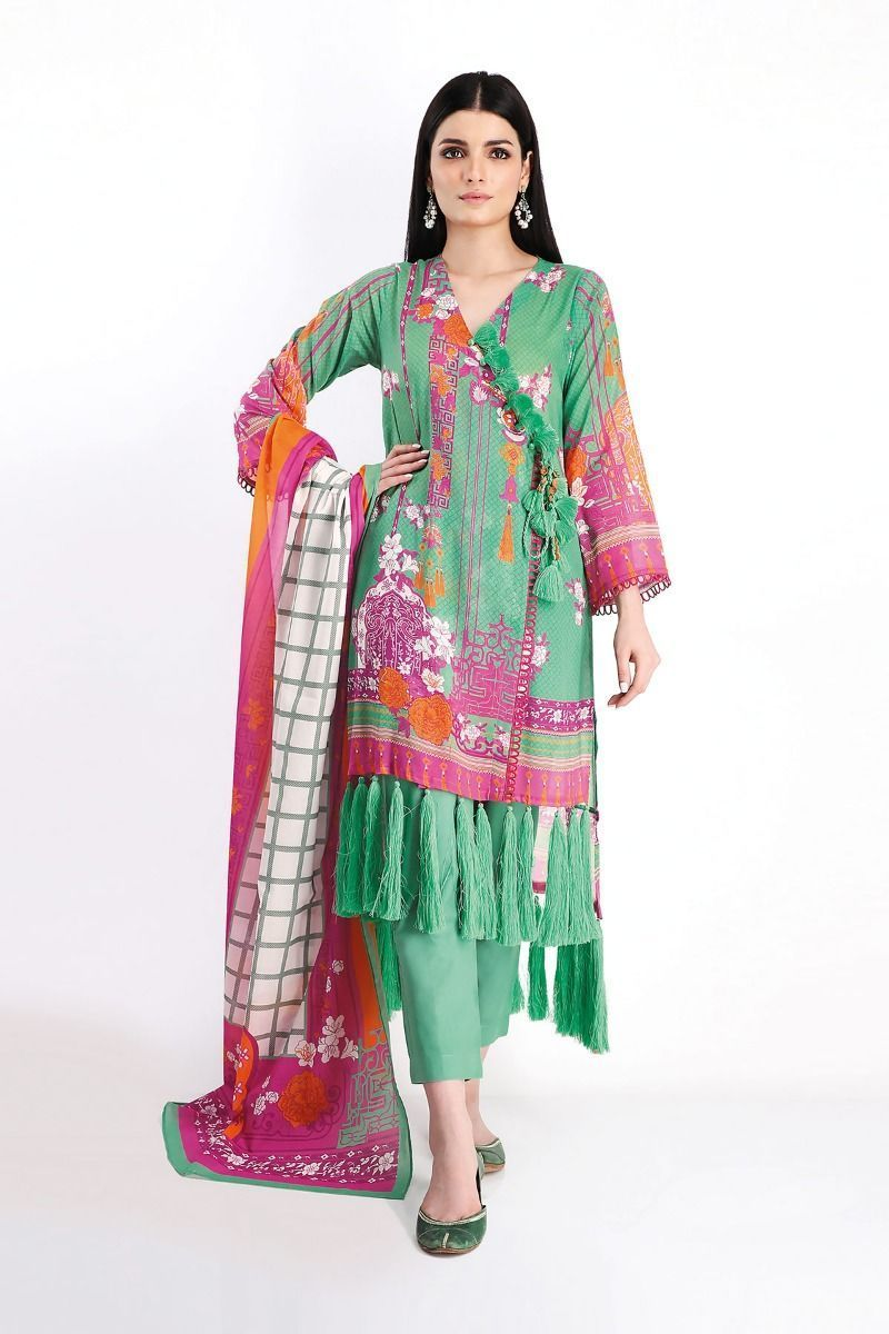 Awesome Khaadi Printed Lawn 2020 Unstitched Shirts